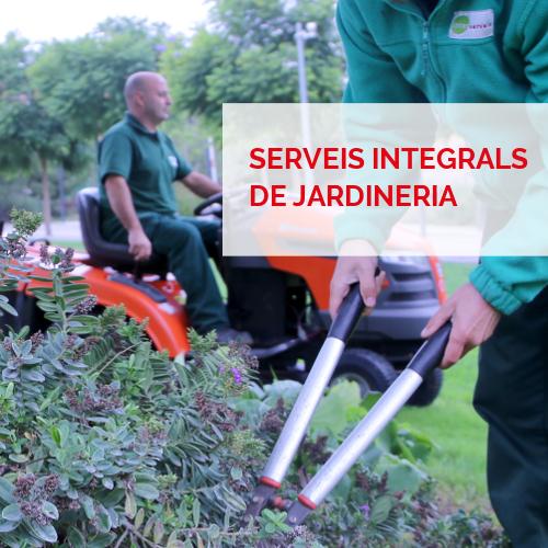 Serveis integrals - Jardineria
